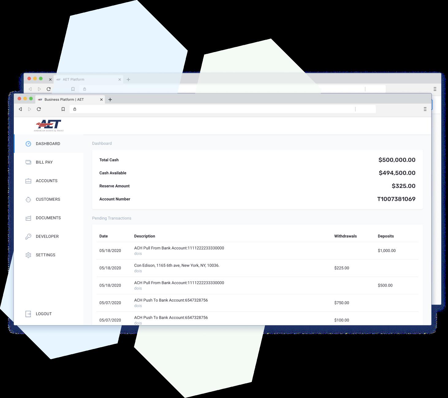 platform screenshot of dashboard2